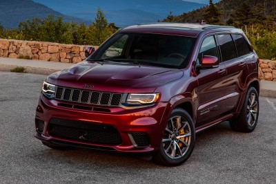 Jeep Grand Cherokee Trackhawk (46 фото)