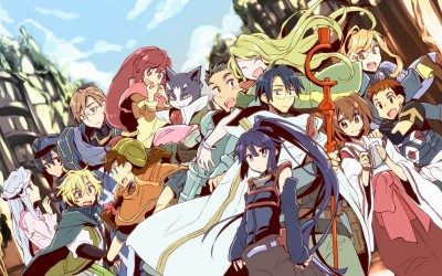 Покорение горизонта / Log Horizon (44 фото)