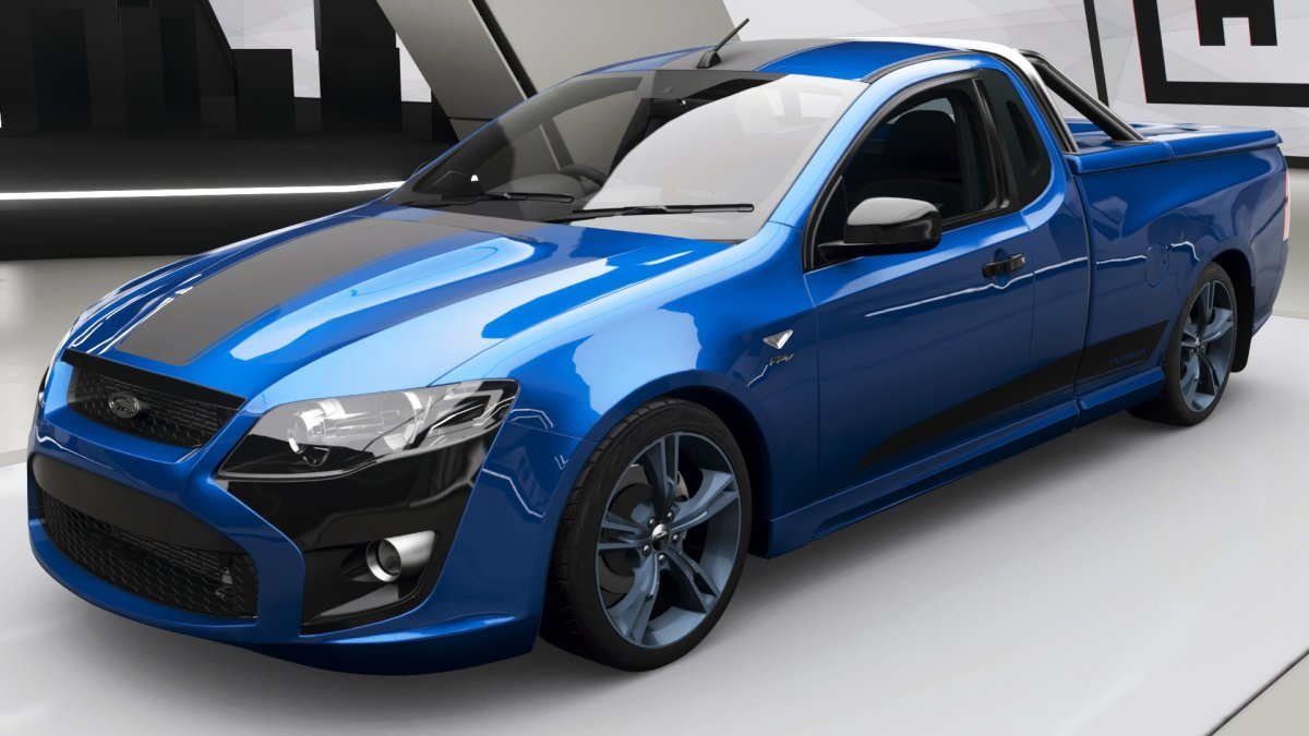 Ford FPV Limited Edition Pursuit Ute (34 фото)