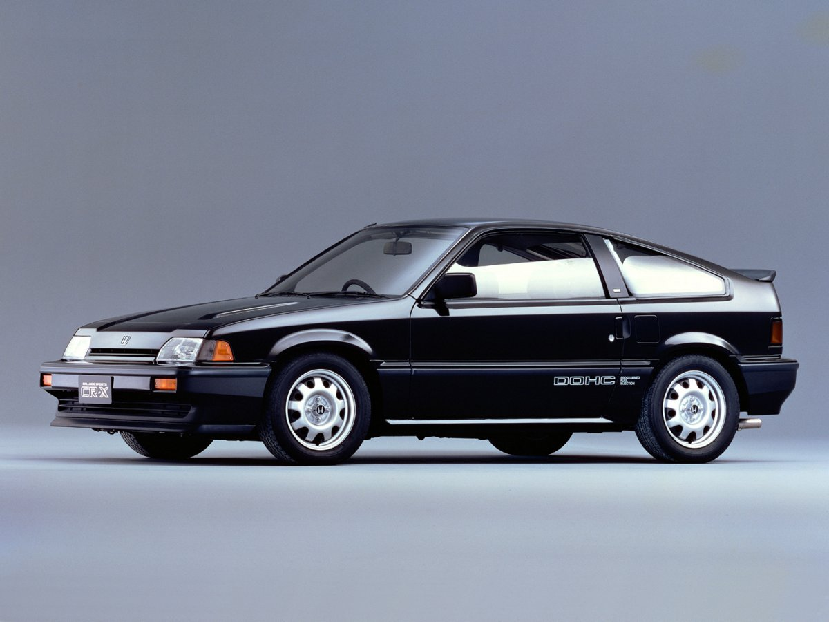 Honda CR-X SiR (40 фото)